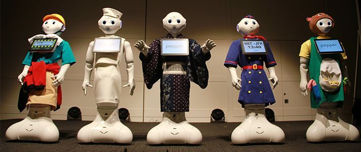 Robots wearing clothing