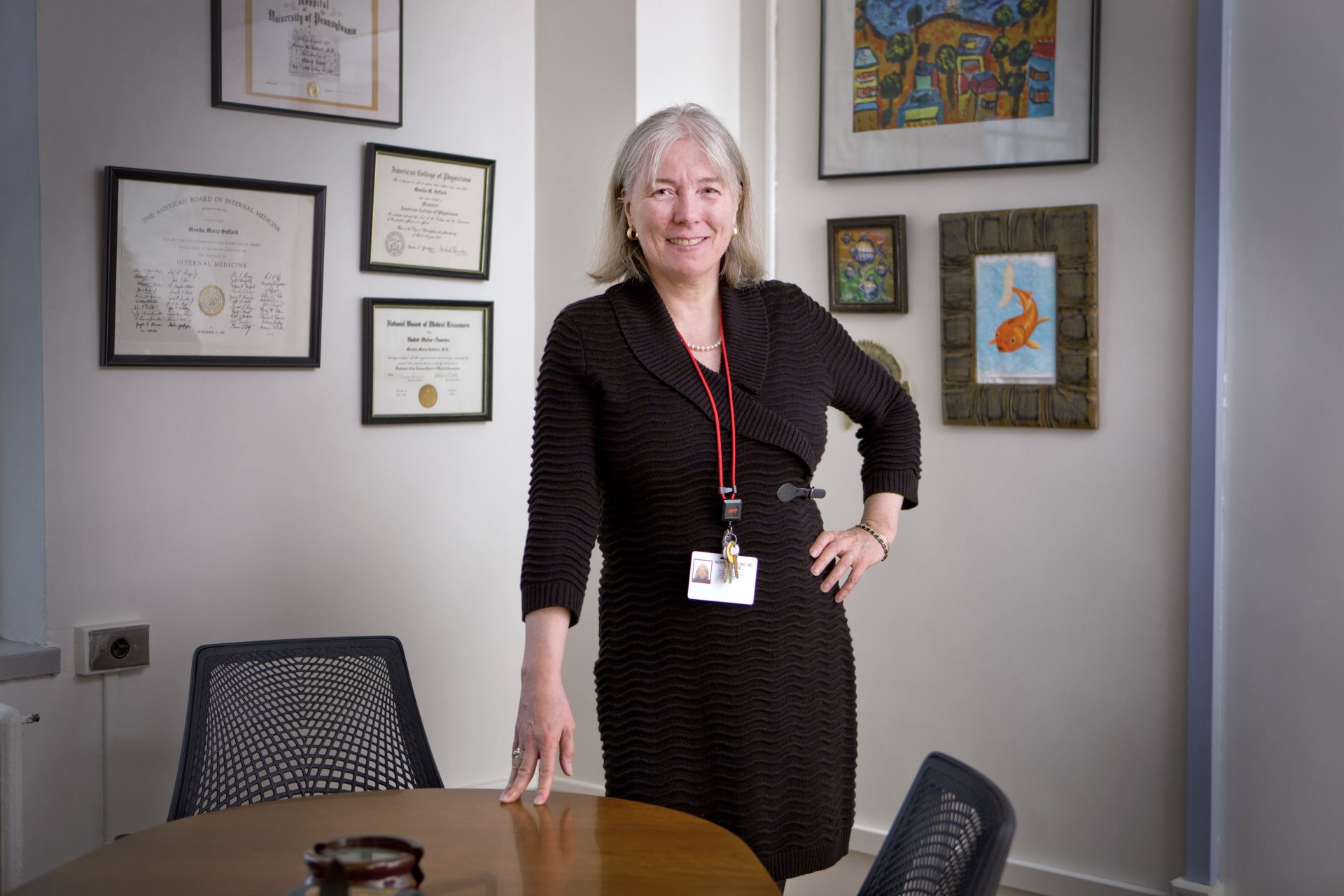 Dr. Monika Safford (photo by John Abbott/Weill Cornell Medicine)