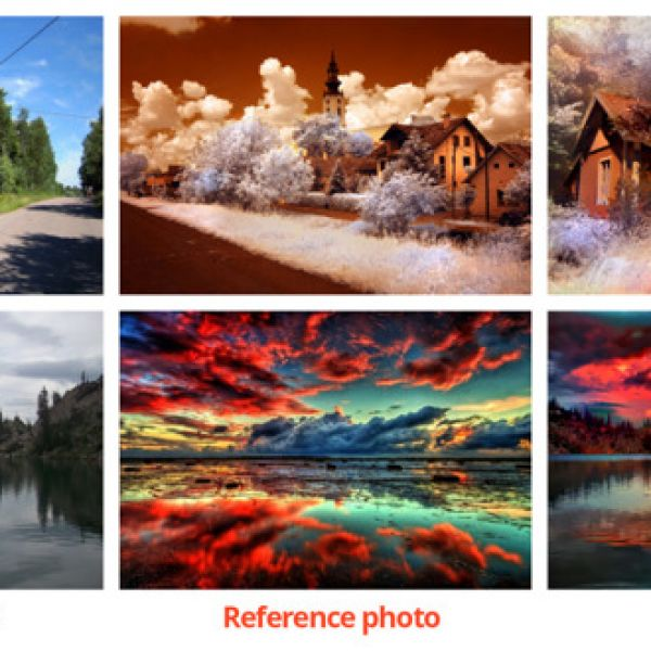 example of photo style transfer