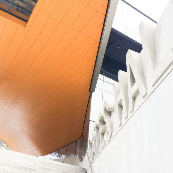 exterior of Gates Hall