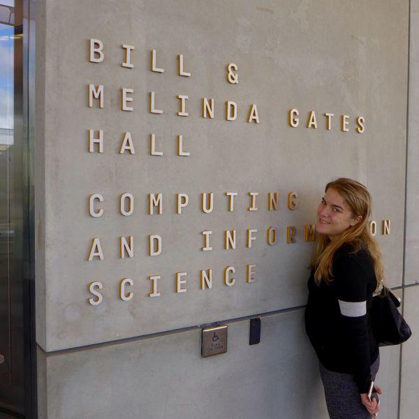 Daniela Retelny at Gates Hall