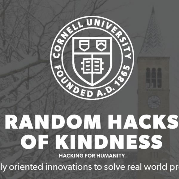 random hacks of kindness poster