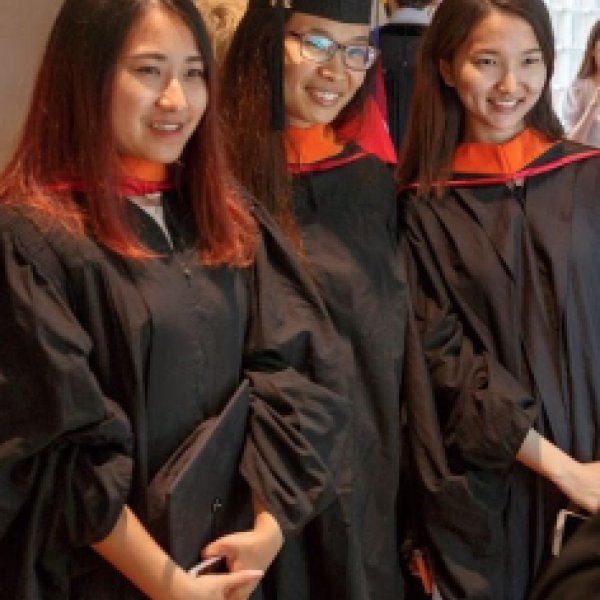MPS students at graduation ceremony