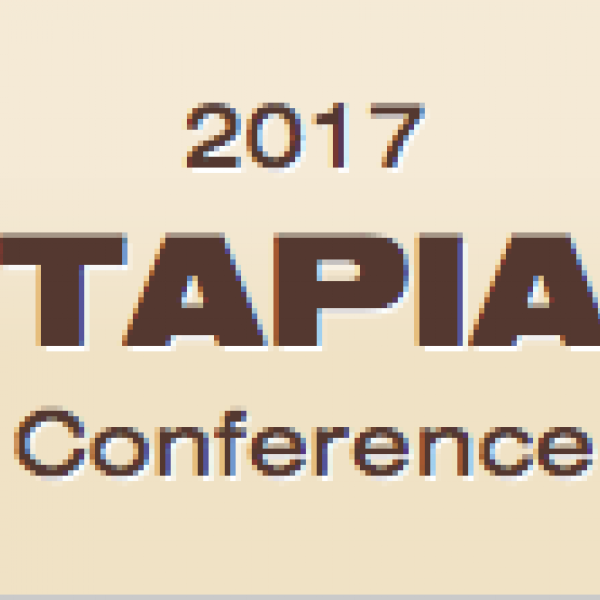"photo of text ""2017 tapia conference"""