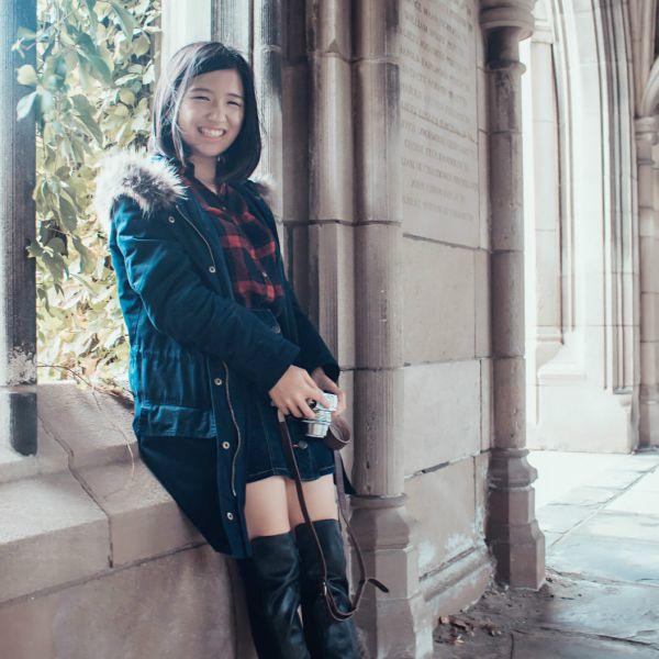 Wensha Zhang smiling