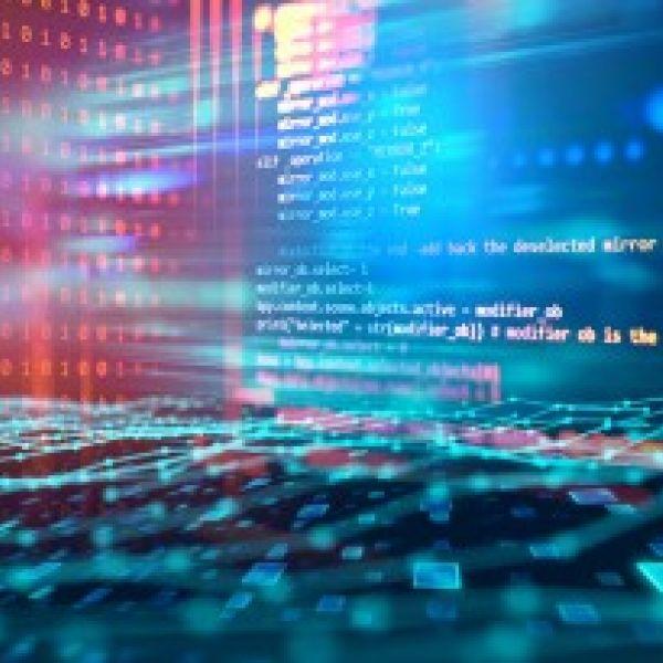 Algorithms stock photo