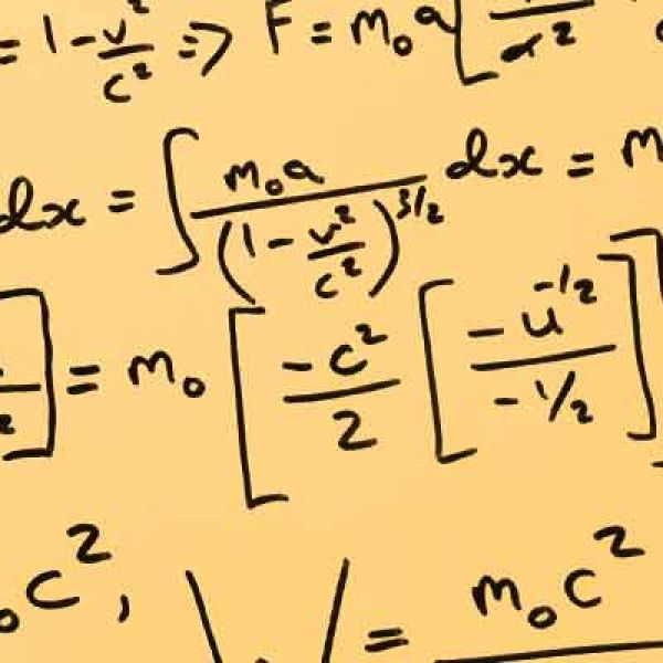 photo of statistic equations