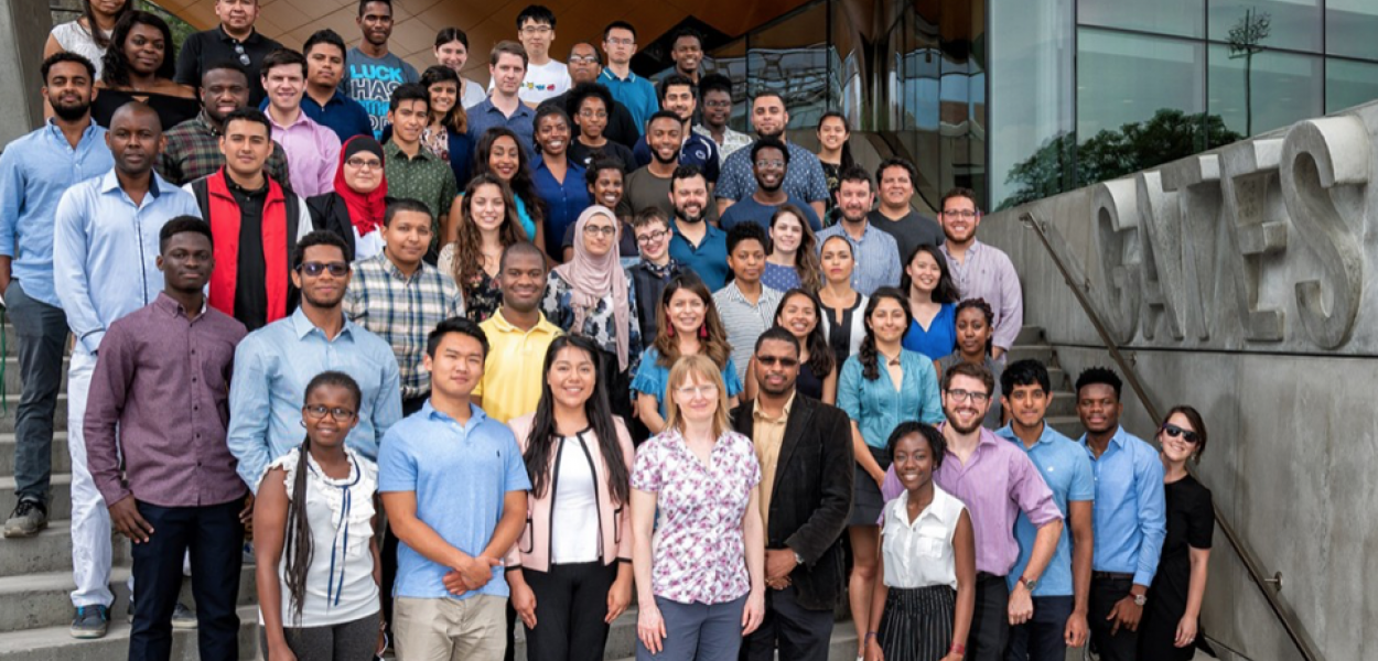 Group photo of SoNIC and Social Impact workshop participants
