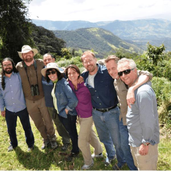 CompSustNet members in Ecuador's cloud forest