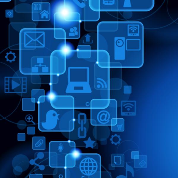 digital tech graphic