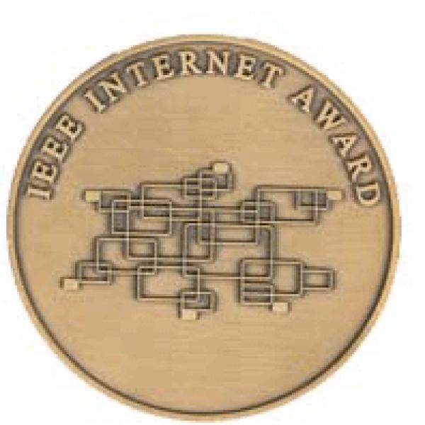 IEE Internet Award coin