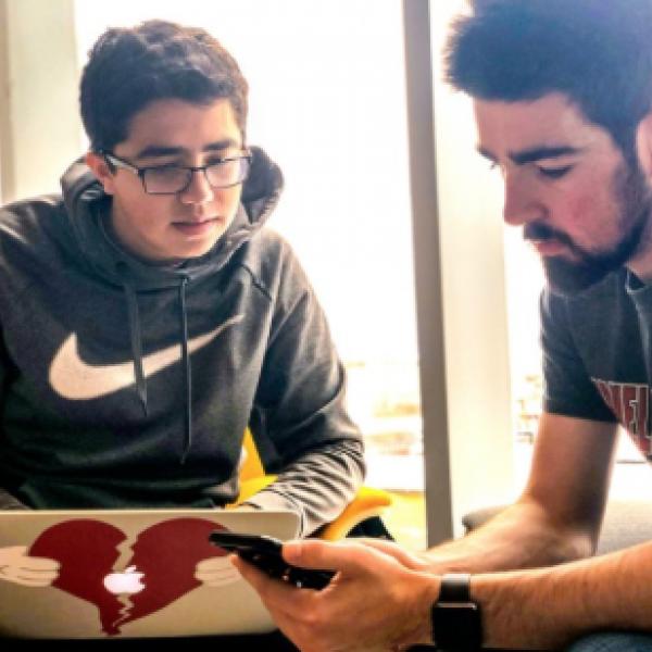 App developers working together