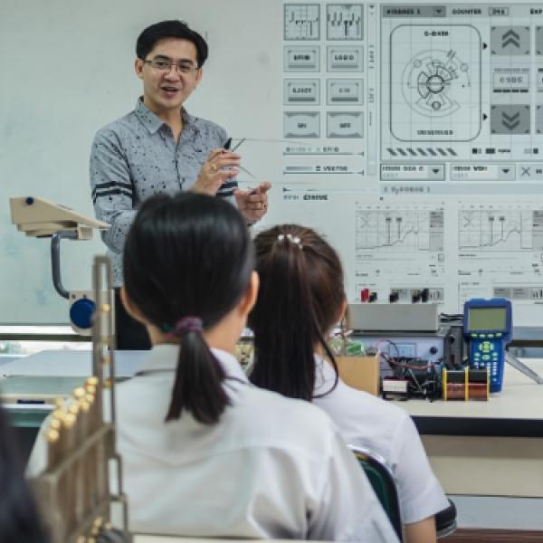 Chinese classroom photo