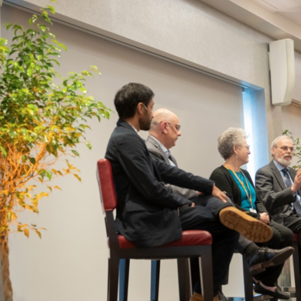 Esteemed university leaders panel at CIS 20th anniversary celebration