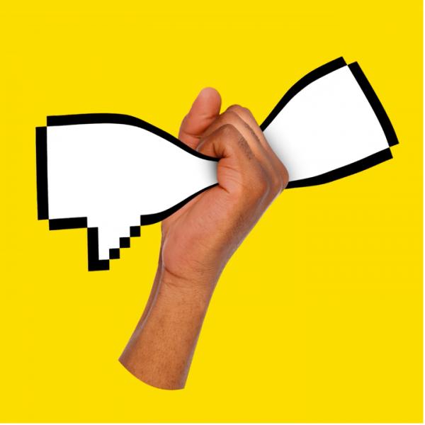 online debate graphic
