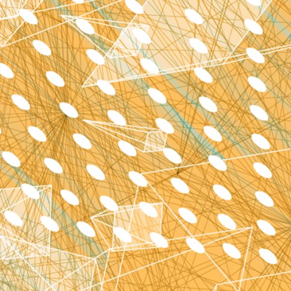 orange lines graphic