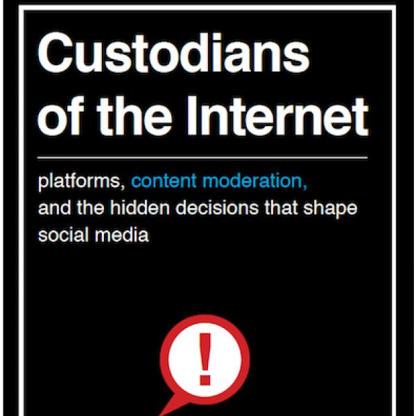 book cover of Custodians of the Internet