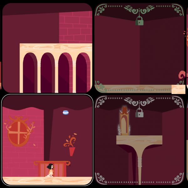 screenshots of Magic Moving Mansion Mania