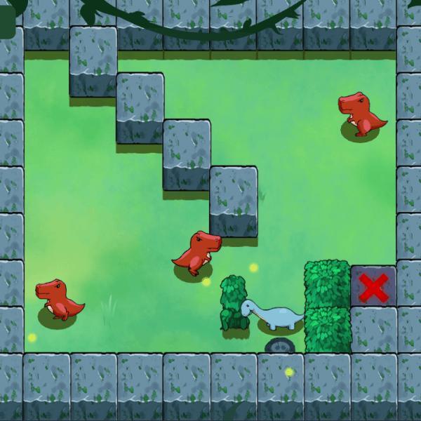screenshot of Trino video game